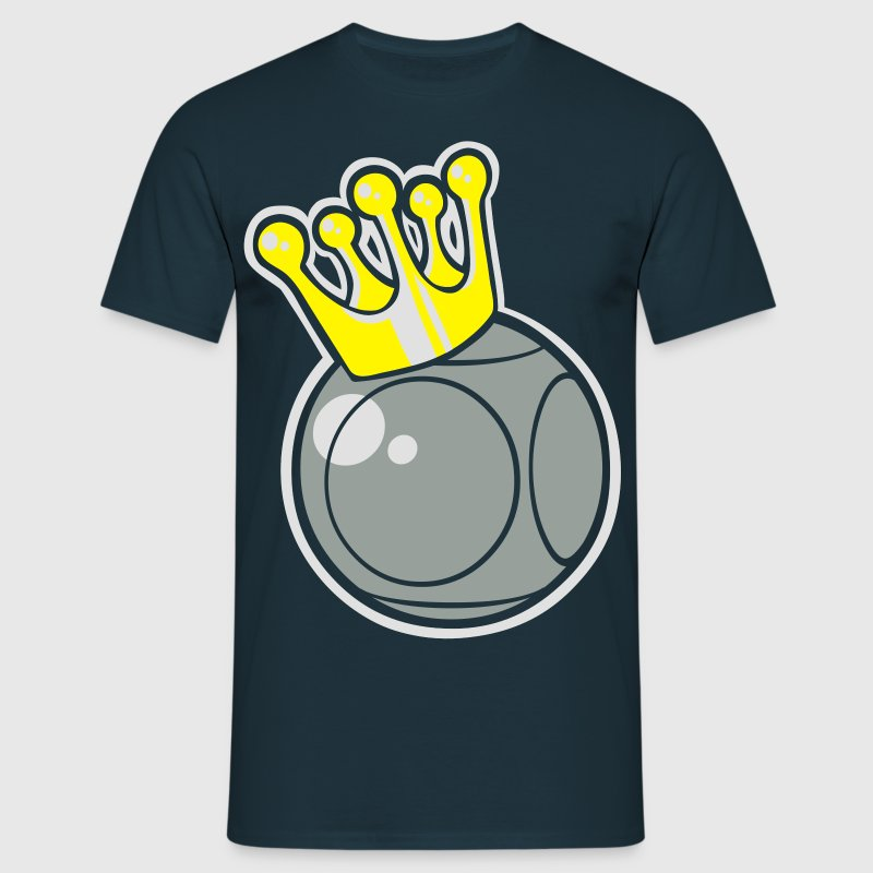 King petanque logo - Men's T-Shirt