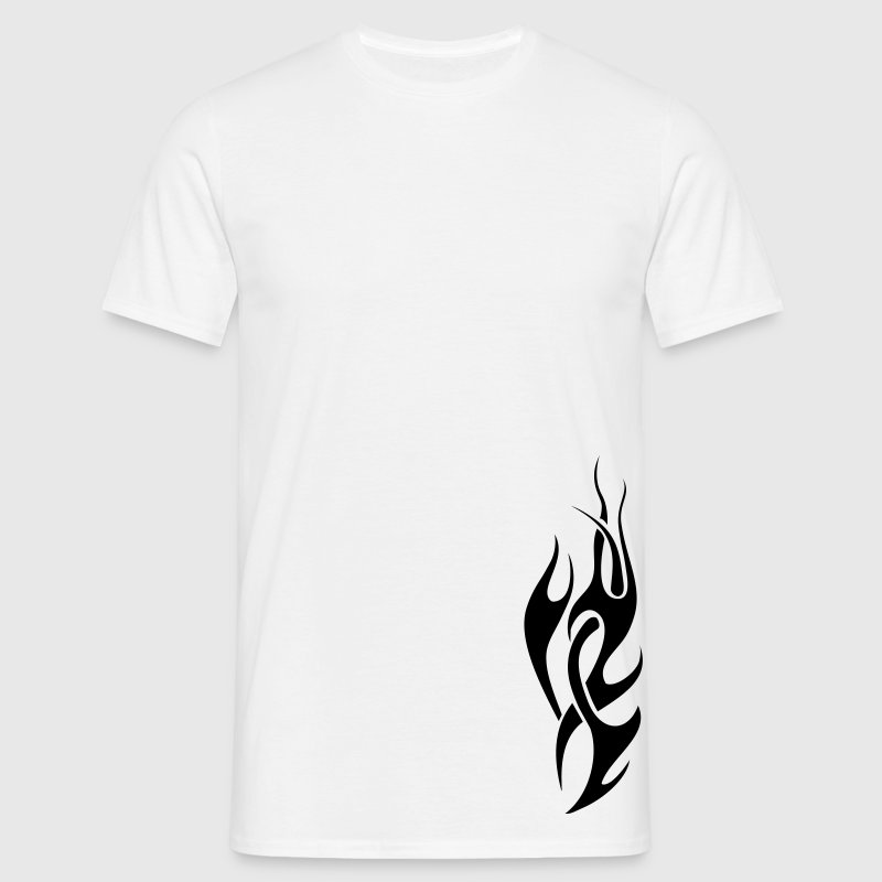 tribal flame T-shirts - T-shirt Homme