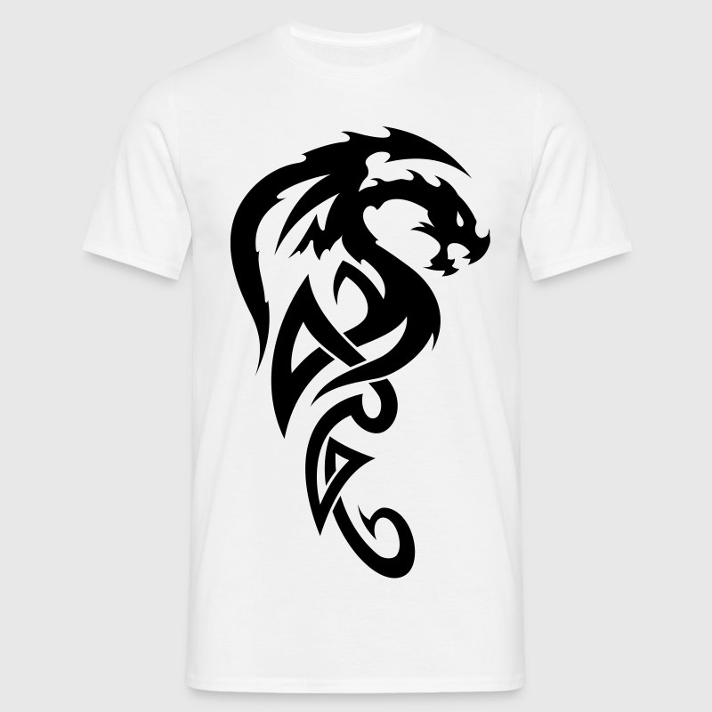 tribal dragon T-Shirts - Männer T-Shirt