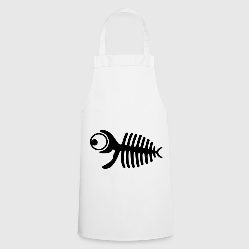 Funny Fishbone Apron - Cooking Apron