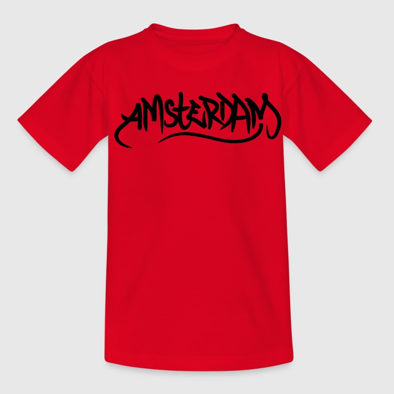 Amsterdam Kinder shirts - Teenager T-shirt