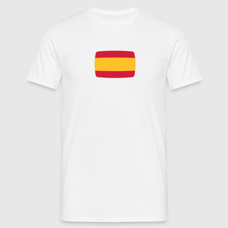 Spain Flag Spain Flag Spain Espana Spanish  T-Shirts - Men's T-Shirt