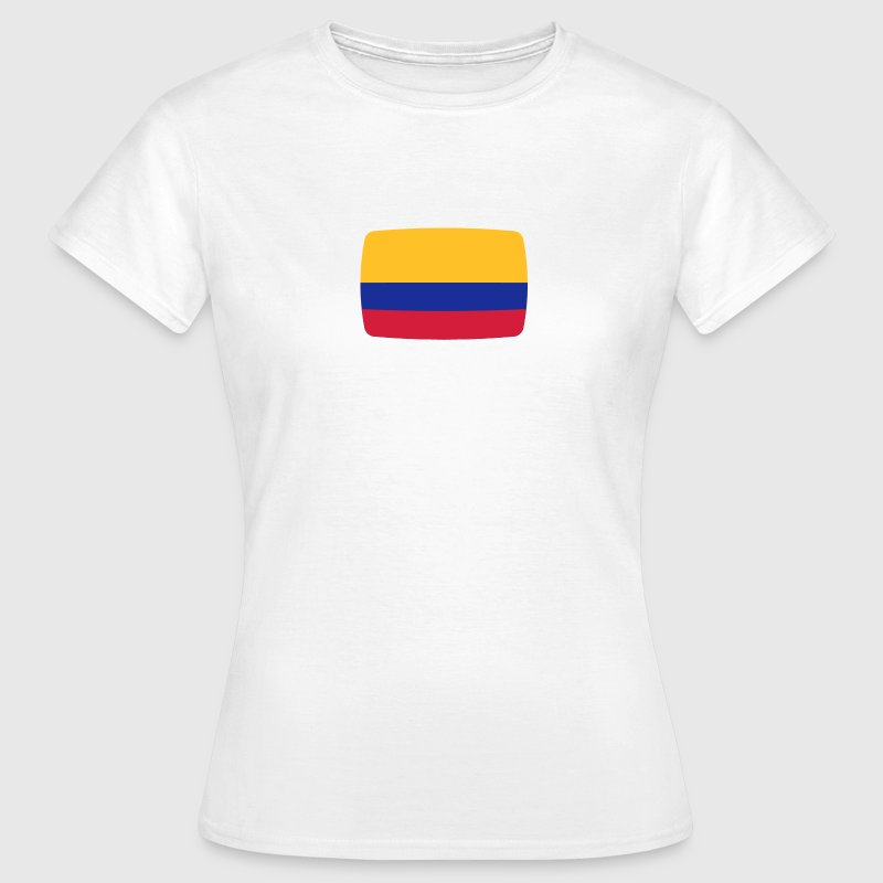 Kolumbien Fahne Kolumbien Flagge Colombia kolumbisch kolumbianisch  T-Shirts - Frauen T-Shirt