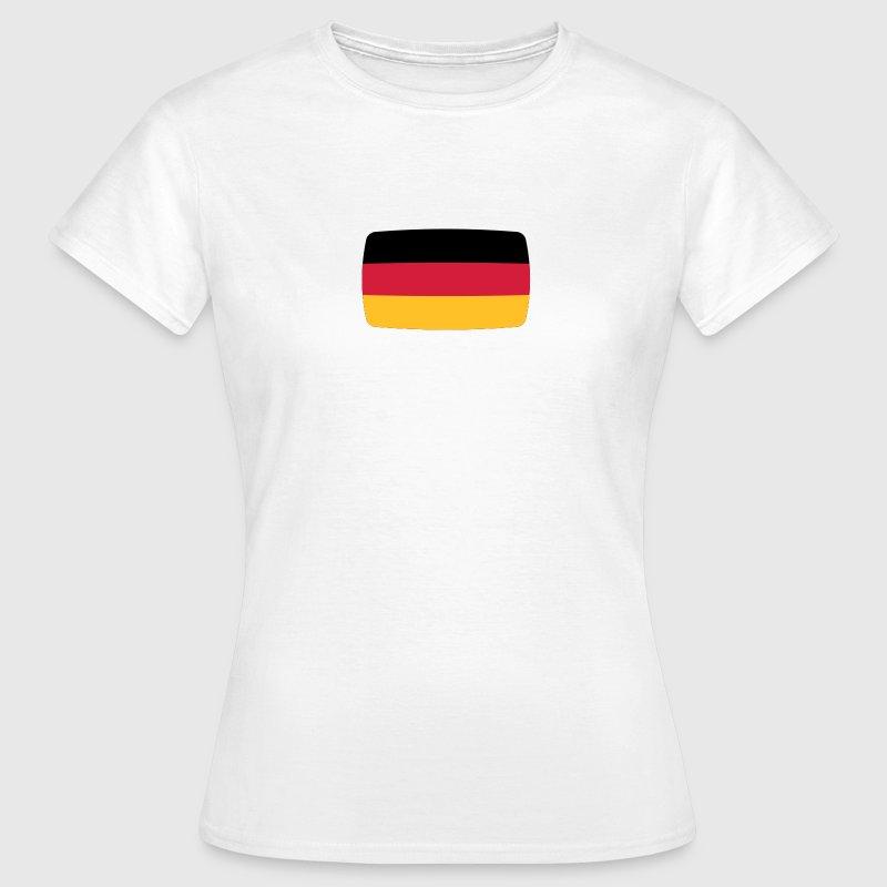 tee shirt drapeau allemagne allemagne allemagne drapeau allemand spreadshirt. Black Bedroom Furniture Sets. Home Design Ideas