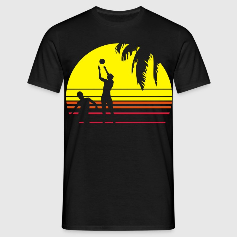 BEACH VOLLEY PALME T-Shirts - Männer T-Shirt