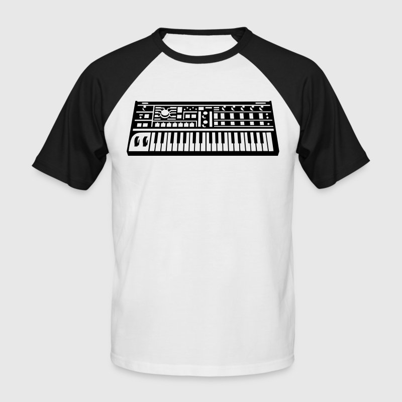 Synthesizer T-Shirts - Men's Baseball T-Shirt