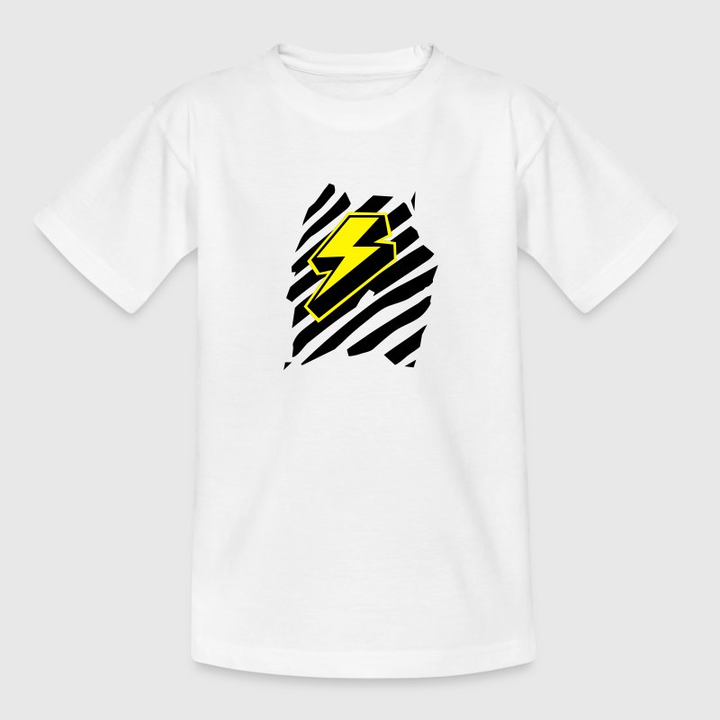Blitz /  - Design Superheld / Superhero Kinder T-Shirts - Teenager T-Shirt