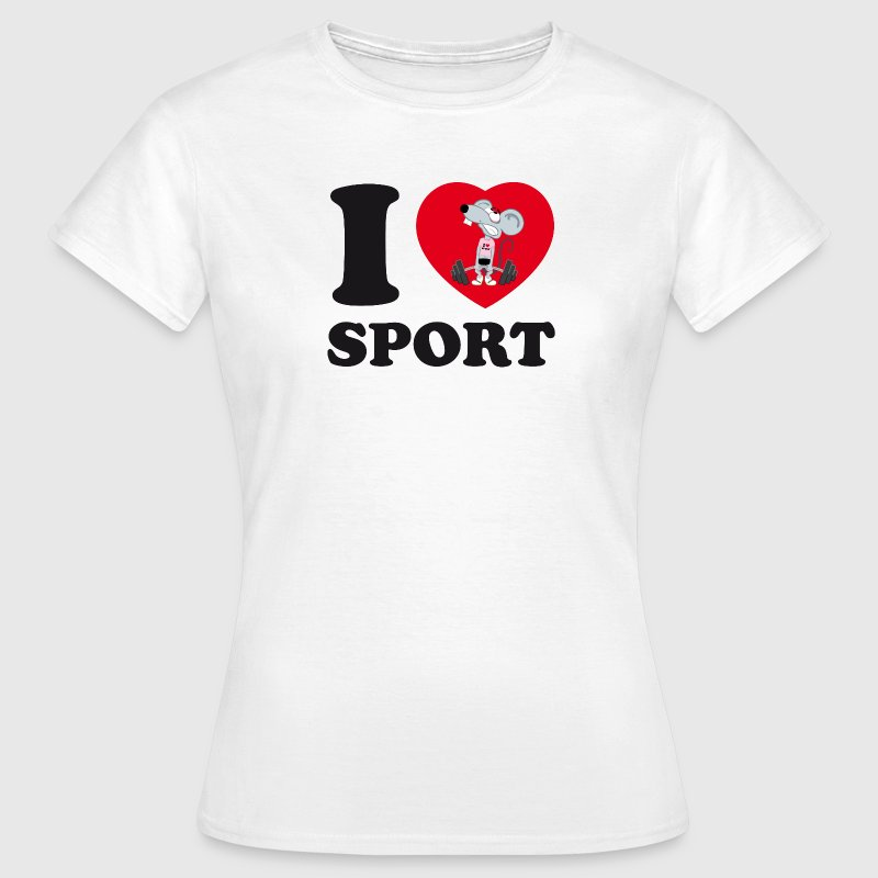 I love Sport - Women's T-Shirt