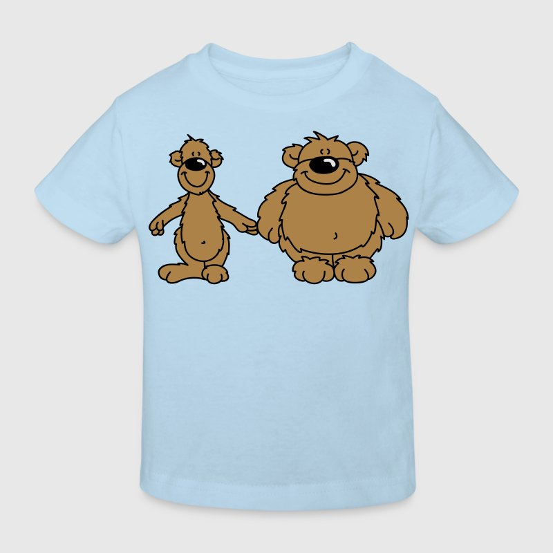 Two bears Kids' Shirts - Kids' Organic T-shirt