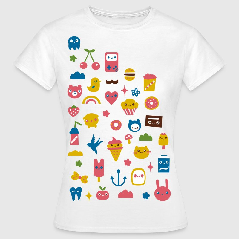 Kawaii ting - Dame-T-shirt