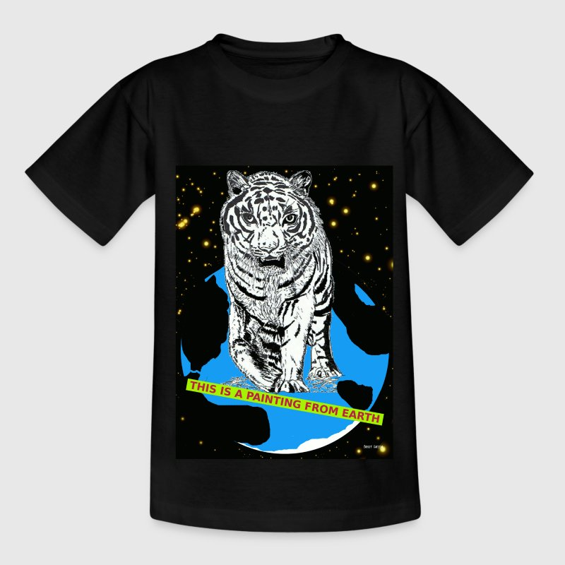 tijger Kinder shirts - Teenager T-shirt
