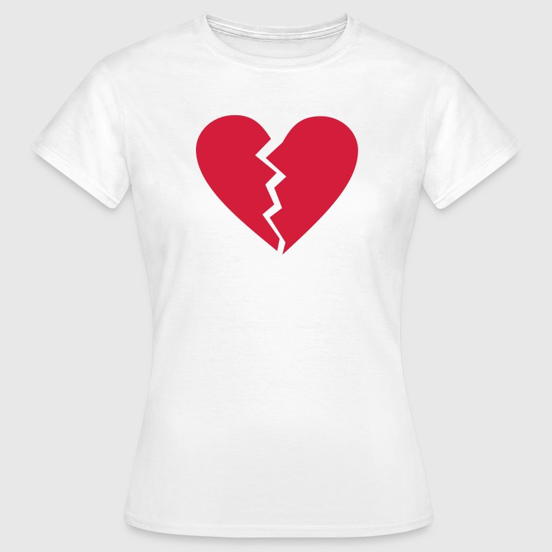 broken heart T-Shirts - Women's T-Shirt