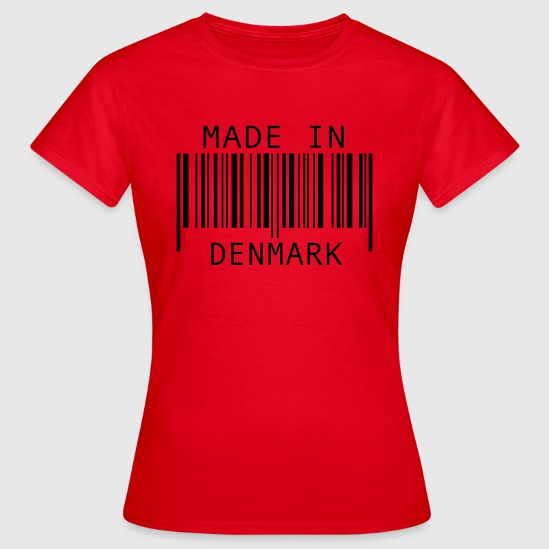 Made in Denmark T-shirts - Dame-T-shirt