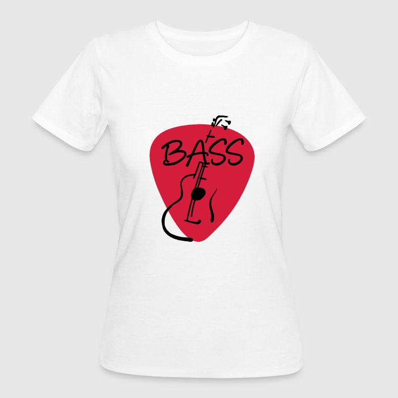 Plektrum Bass Bassist 2 T-Shirts - Frauen Bio-T-Shirt