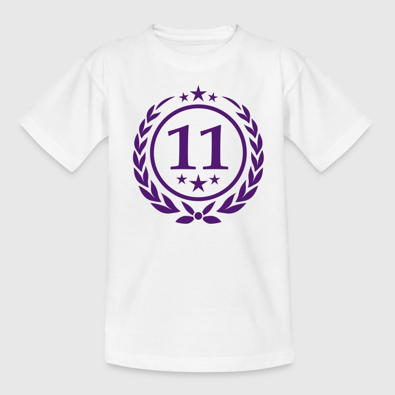 Geburtstag 11 Kinder T-Shirts - Teenager T-Shirt