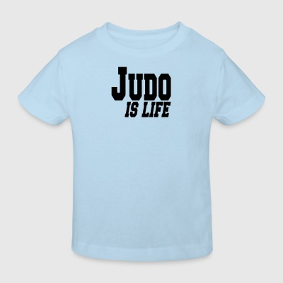 judo is life Baby-bodyer - Organic børne shirt
