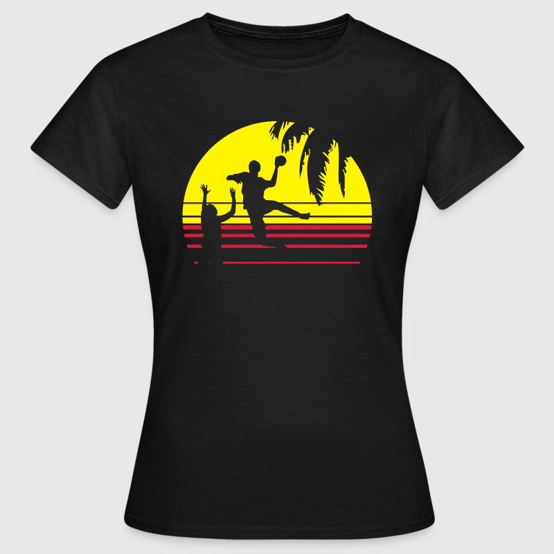 SUNSET BEACH HANDBALL T Shirt
