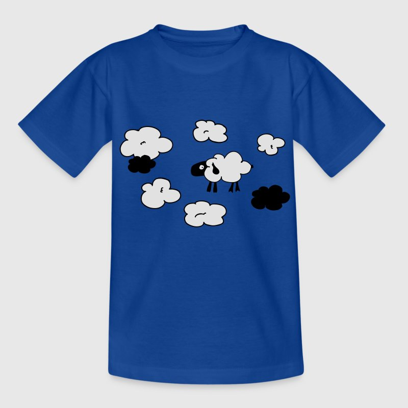 schäfchenwolken Kinder T-Shirts - Teenager T-Shirt