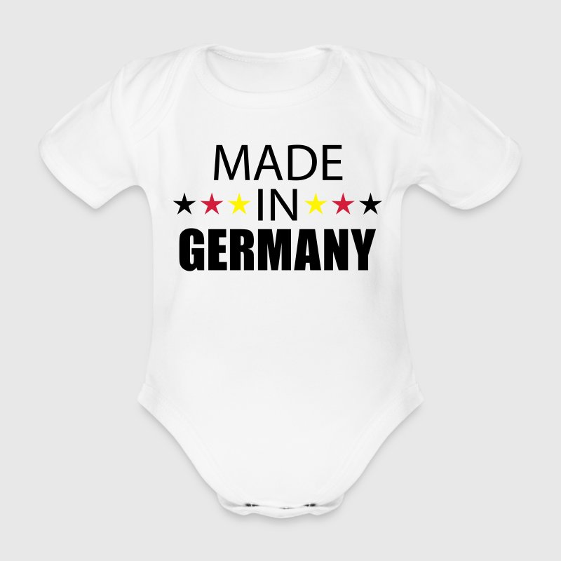 Made In Germany Baby Body - Baby Bio-Kurzarm-Body