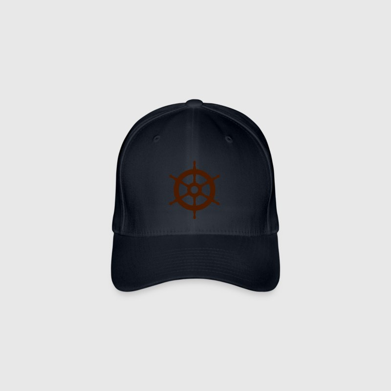 Ship Wheel Caps & Hats - Flexfit Baseball Cap