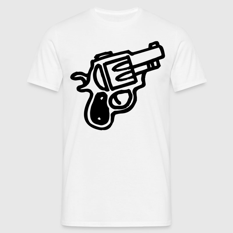 cartoon gun T-Shirts - Men's T-Shirt