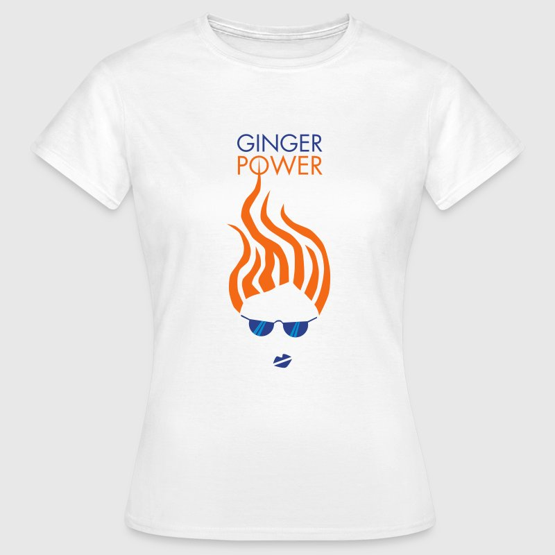 Ginger Power Woman - Women's T-Shirt