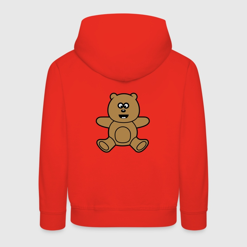 Teddy Bear Kawaii mignon Sweats Enfants - Pull à capuche Premium Enfant