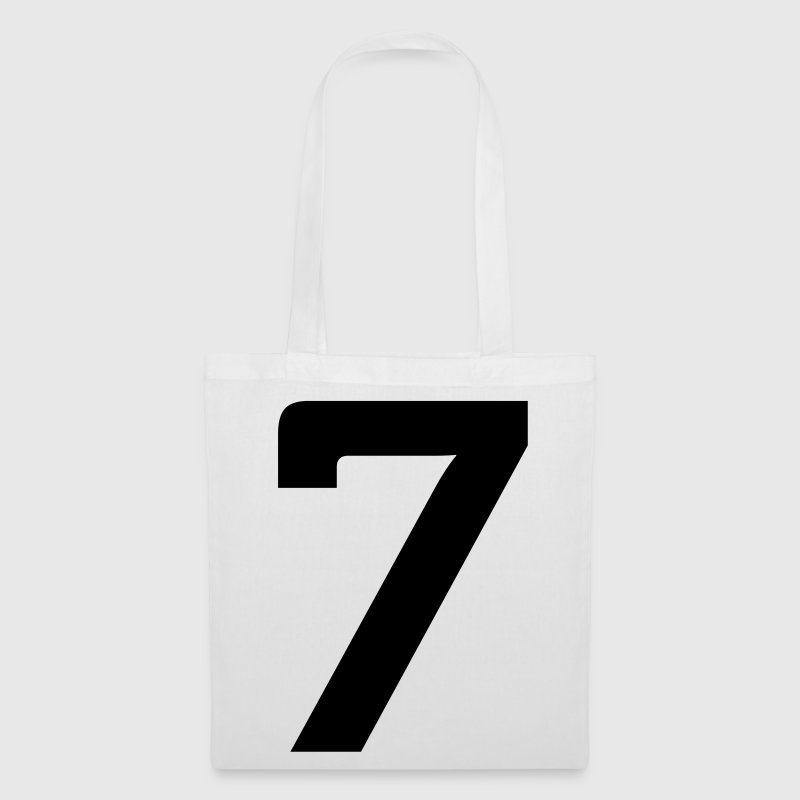 Number 7 (1c)++ Bags  - Tote Bag
