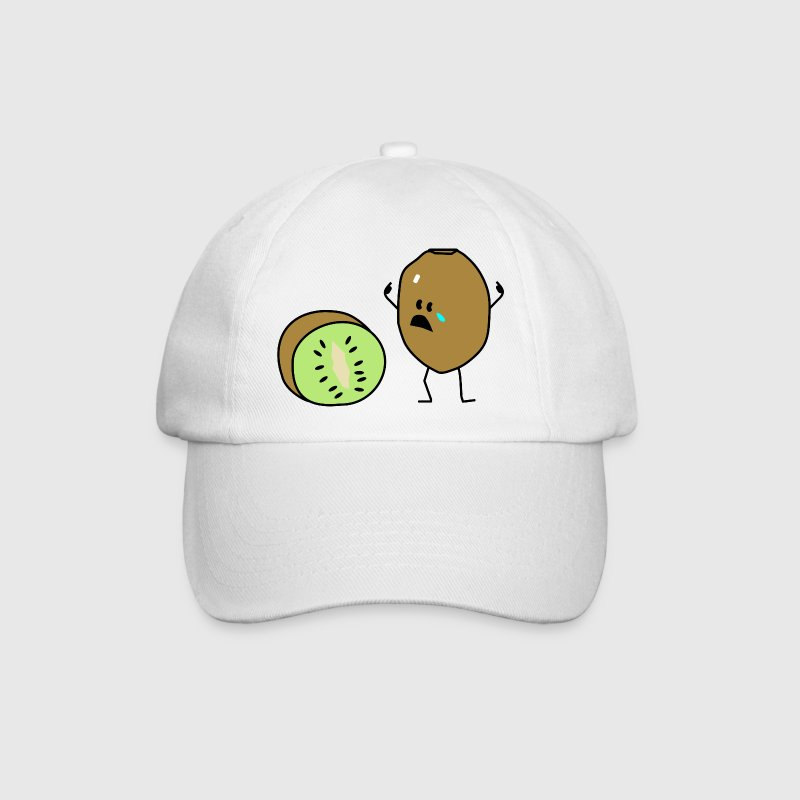 sad kiwi Caps & Hats - Baseball Cap