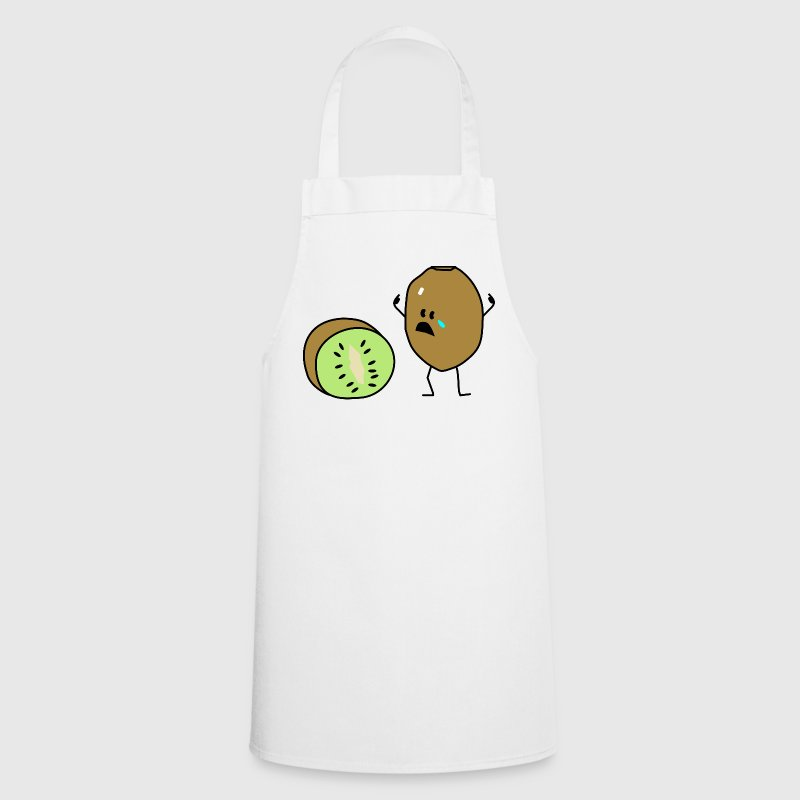 sad kiwi  Aprons - Cooking Apron