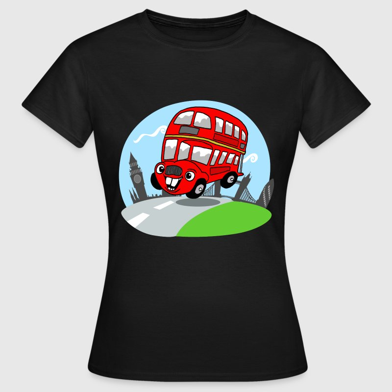 Sjov bus - Dame-T-shirt