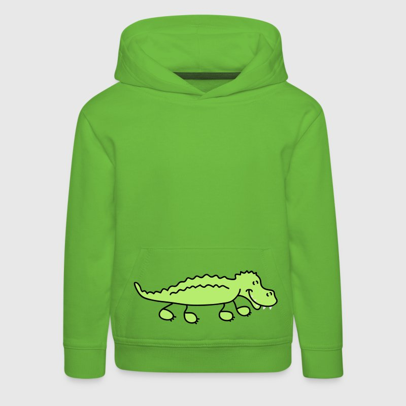Crocodile Sweats Enfants - Pull à capuche Premium Enfant