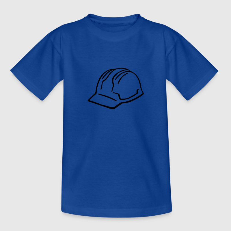Bauarbeiter Helm Kinder T-Shirts - Teenager T-Shirt