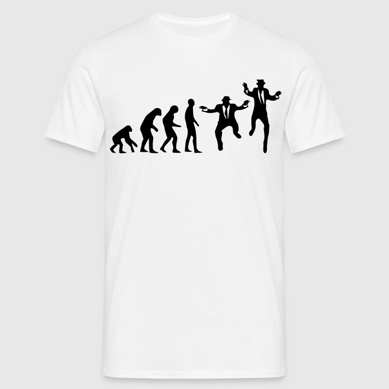 Evolutie brothers T-shirts - Mannen T-shirt