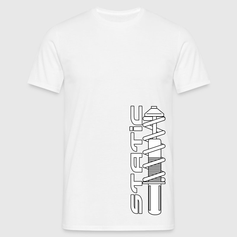 Static (word) Tee - Men's T-Shirt