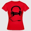 Headphones Audio Wave Design: Funk Musik T-Shirts - Women's T-Shirt