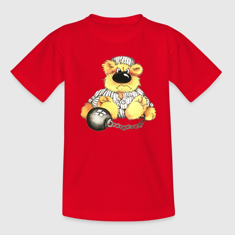 Sträfling Kinder T-Shirts - Teenager T-Shirt