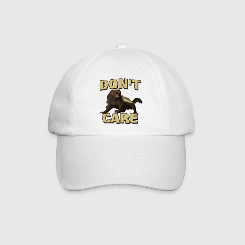 Honey Badger Don't Care Caps & Hats - Baseball Cap