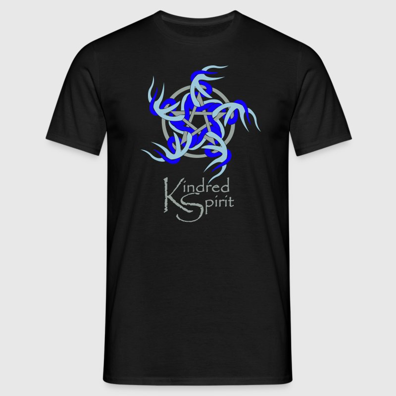 Kindred Spirit Symbol with Words T-Shirts - Men's T-Shirt