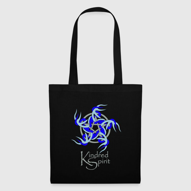 Kindred Spirit Symbol with Words Bags  - Tote Bag