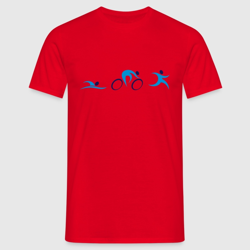 Triathlon Icons Tee shirts - T-shirt Homme