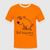 shit happens T-Shirts - Männer Kontrast-T-Shirt