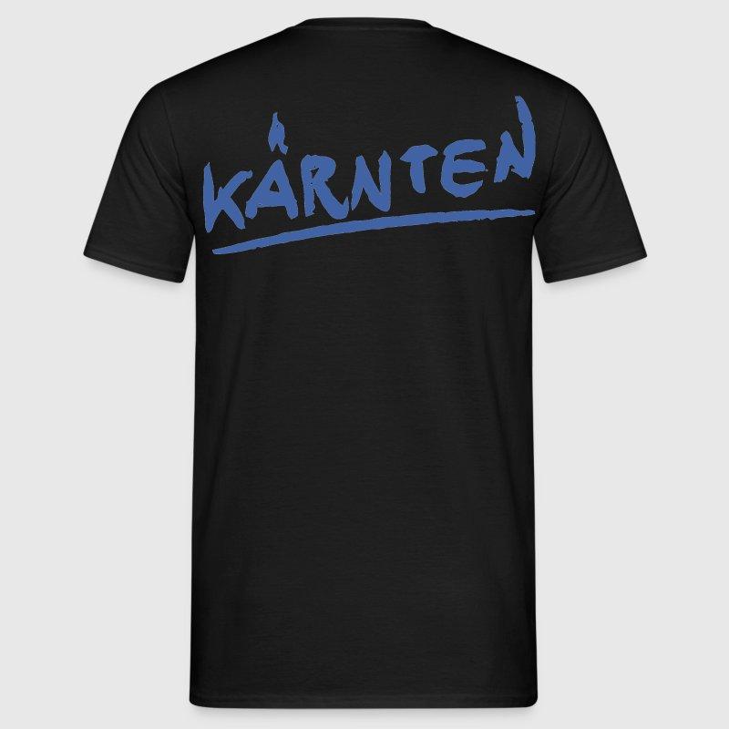 m nner t shirt klassisch schwarz k rnten t shirt spreadshirt. Black Bedroom Furniture Sets. Home Design Ideas