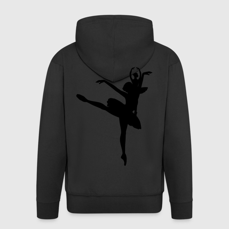 Ballet Dancer Coats & Jackets - Men's Premium Hooded Jacket
