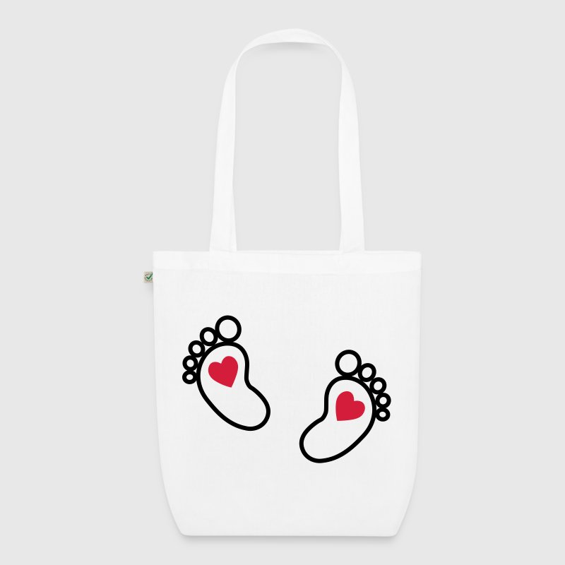 Baby feet  Bags  - EarthPositive Tote Bag