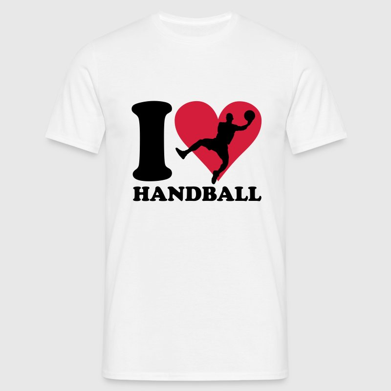 I love Handball T-Shirts - Men's T-Shirt