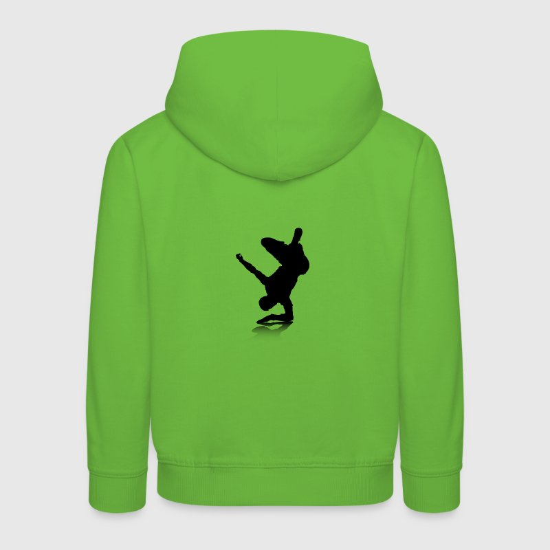 Breakdancer (on elbow) - Kinder Premium Hoodie