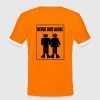 Never Dive Alone T-Shirts - Men's Ringer Shirt