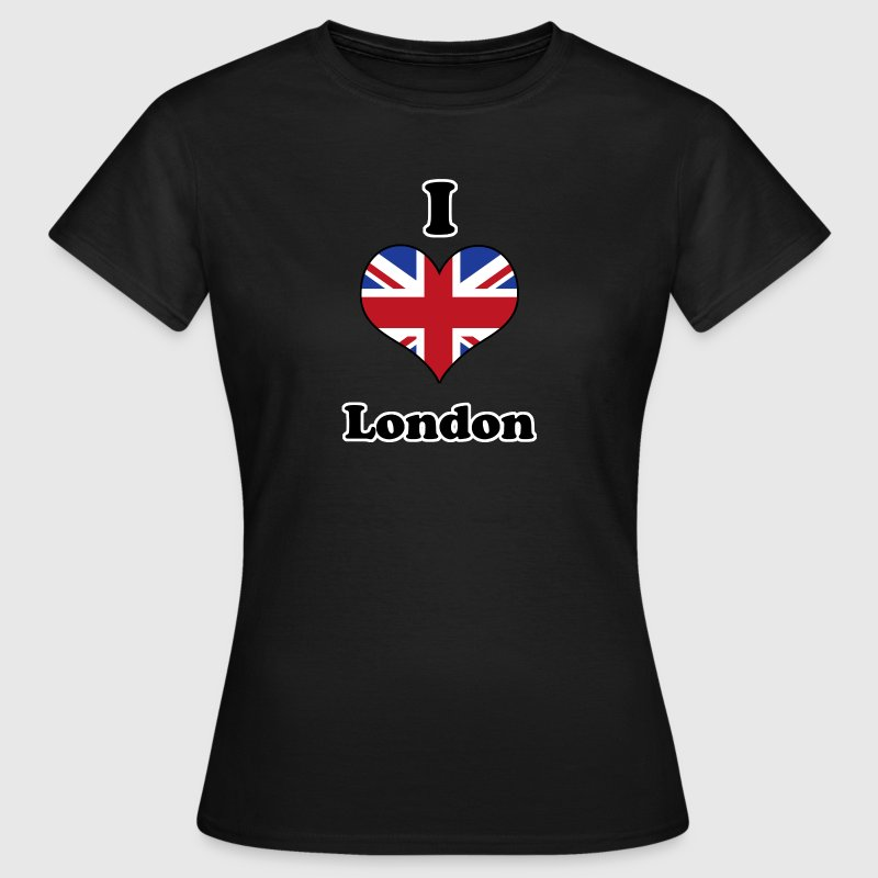 I love London Camisetas - Camiseta mujer