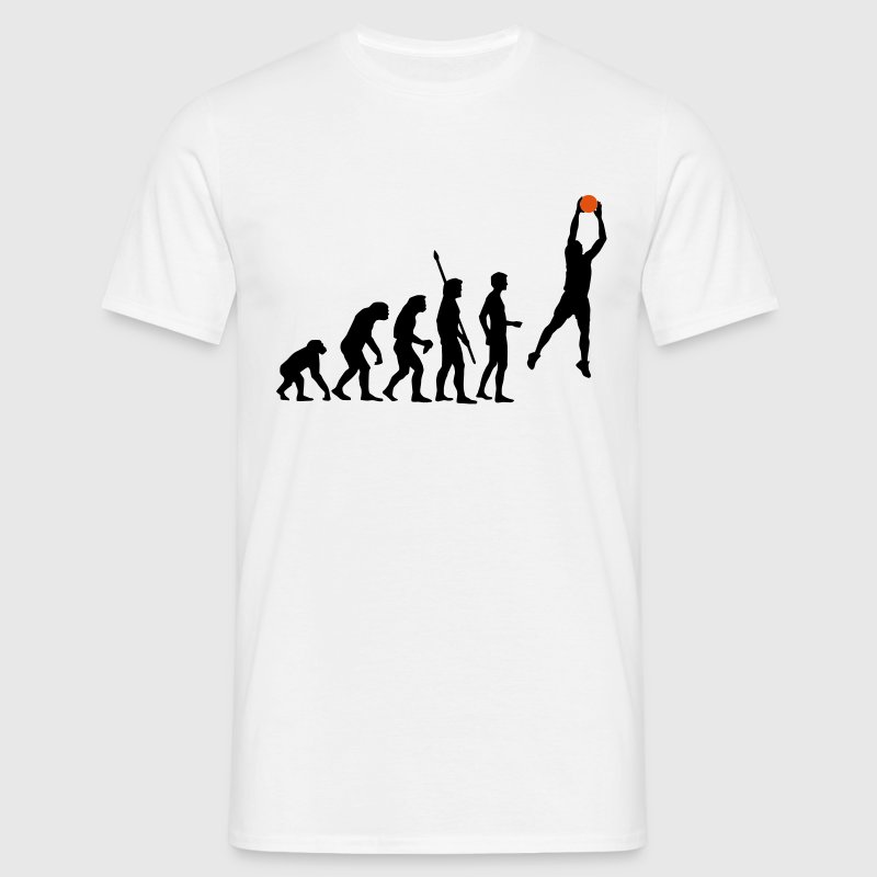 evolution_basketball_072011_a_2c T-shirts - Mannen T-shirt